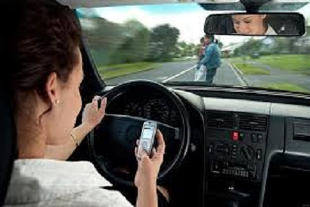 Intolerable. Cell phone while driving authoritative answer